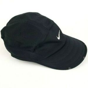 Nike · Men's · Black · Aerobill Fit Running Cap